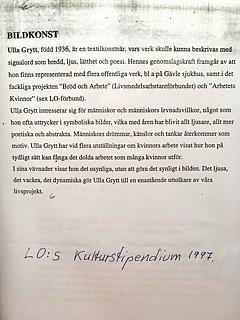 LO Kulturstipendium 1997